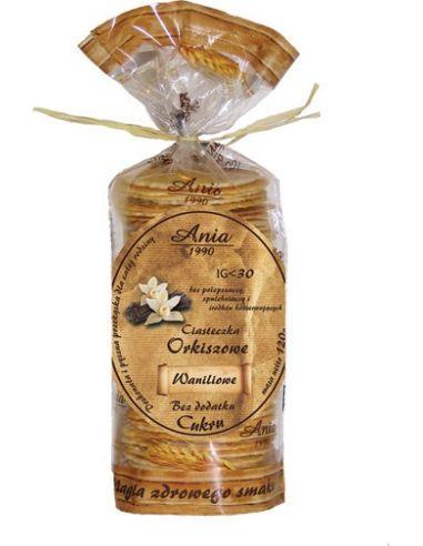Ciasteczka orkiszowe waniliowe...