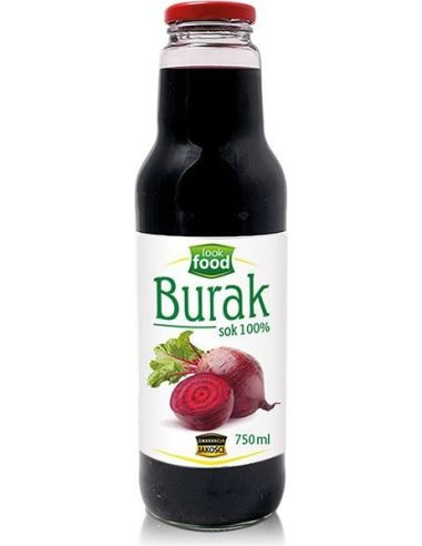 Sok 100% **Burak** 750ml*LOOK FOOD*