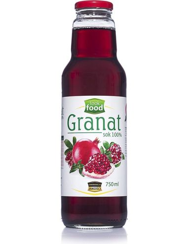 Sok 100% **Granat** 750ml*LOOK FOOD*