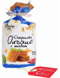 Ciasteczka owsiane z miodem bezcukrowe 150g*ANIA*