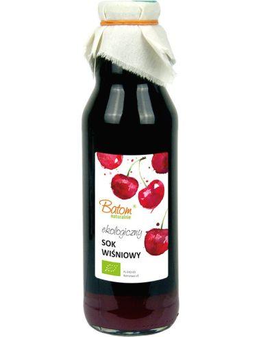 Sok wiśniowy bez dodatku cukru 750ml...