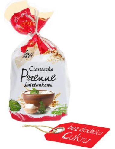 Ciasteczka pszenne śmietankowe bezcukrowe 150g*ANIA*