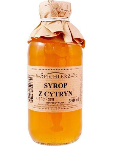 Syrop z cytryn 330ml*SPICHLERZ*