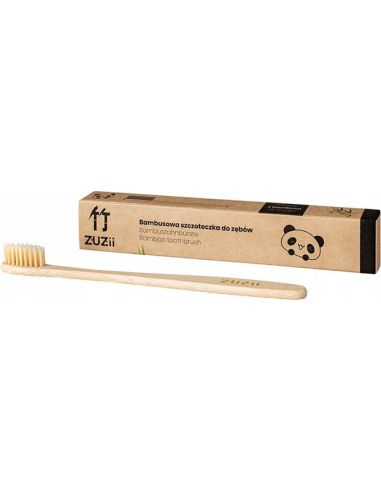 Szczoteczka bambusowa do zębów dla...