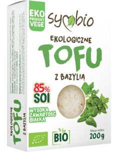 Tofu z bazylią 200g SYMBIO BIO