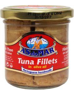 Tuńczyk filety w oliwie z oliwek 150g*AS DO MAR*