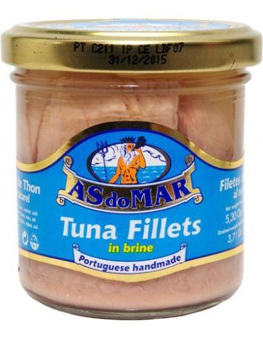 Tuńczyk filety w zalewie 150g AS DO MAR