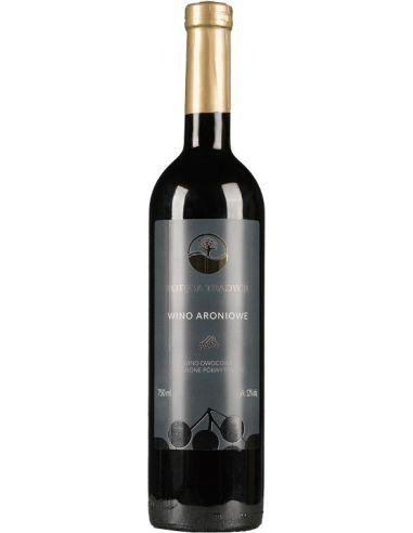 Wino aroniowe czerwone / półwytrawne...