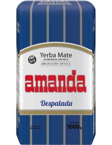 Yerba Mate **Despalada** 1kg*AMANDA*