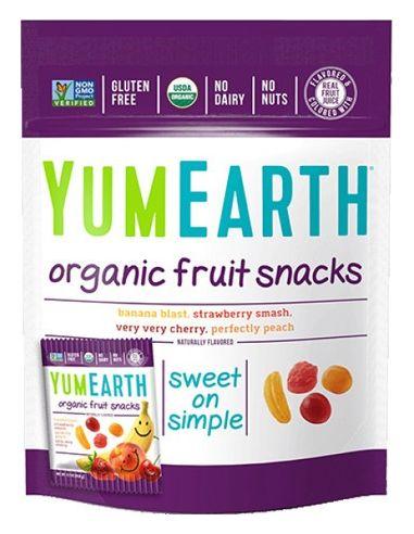 Żelki owocowe fruit snacks 50g...
