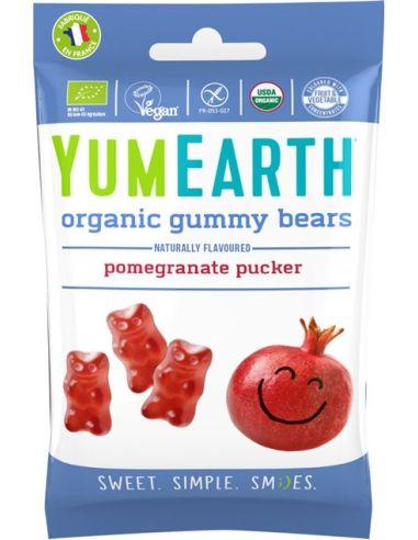 Żelki owocowe pomegranate pucker 50g...