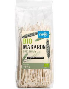 Makaron orkiszowy spaghetti luksusowe 250g NIRO BIO