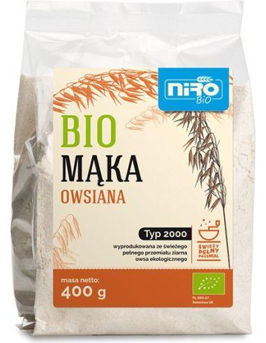 Mąka owsiana TYP 2000 400g*NIRO*BIO