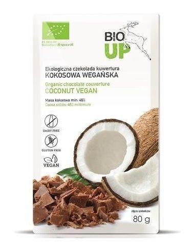 Czekolada kuwertura kokosowa 80g BIO...