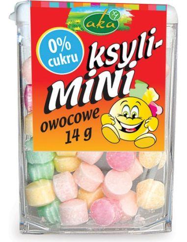 Cukierki Ksyli-Mini owocowe 14g AKA