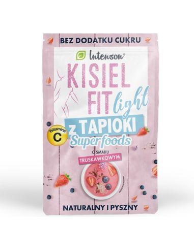 Kisiel Fit Light truskawkowy z...