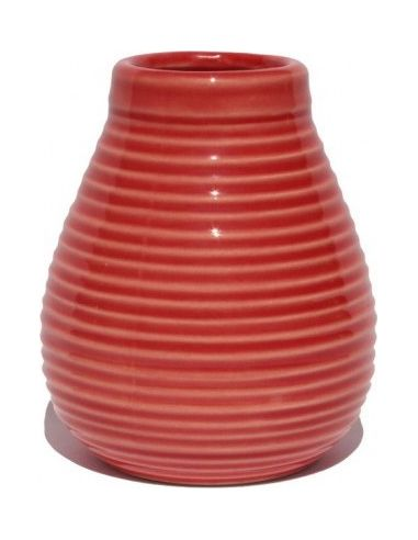 Matero ceramiczne 350ml czerwone