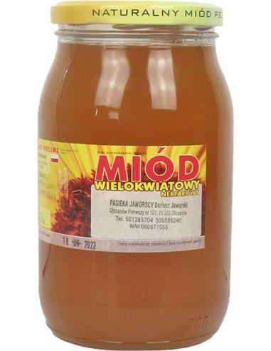 Miód wielokwiatowy nektarowy 1,25kg...