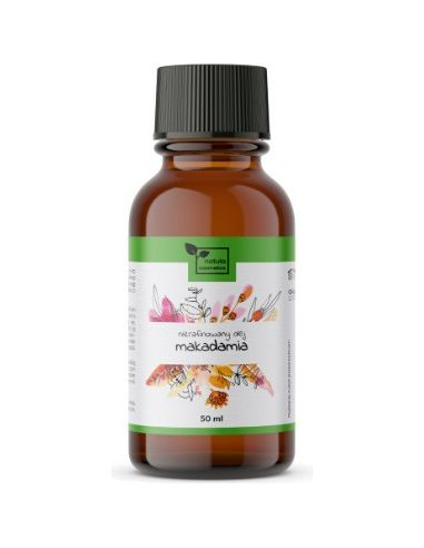 Olej makadamia kosmetyczny 50ml NAT-ULA