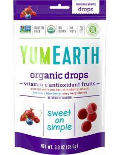 Cukierki owocowe **Anti-oxi fruits** 93,5g*YUMEARTH ORGANICS*BIO