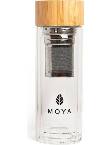 Shaker szklany do matchy 320ml MOYA