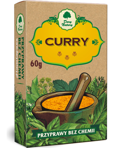 Curry 60g*DARY NATURY*