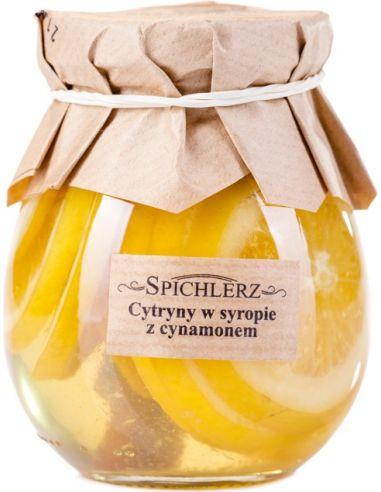 Cytryny w syropie z cynamonem...