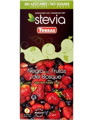 Czekolada **Stevia** gorzka / owoce...