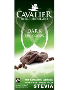 Czekolada deserowa słodzona stewią 85g*CAVALIER*