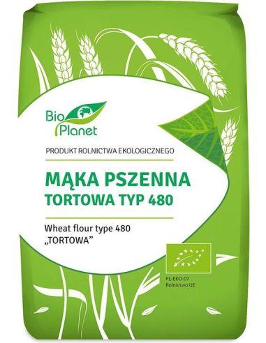 Mąka pszenna TYP 480 tortowa 1kg*BIO PLANET*BIO