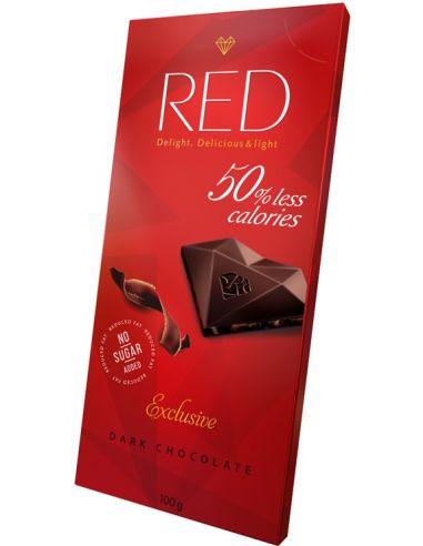 Czekolada gorzka 40% bez cukru 100g*RED*