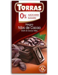 Czekolada gorzka z kakao 75g*TORRAS*
