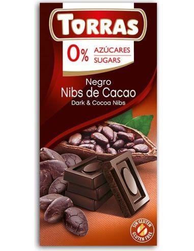 Czekolada gorzka z kakao 75g TORRAS