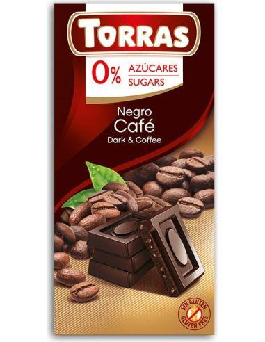 Czekolada gorzka z kawą 75g TORRAS