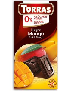 Czekolada gorzka z mango 75g*TORRAS*