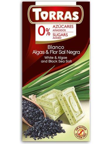 Czekolada biała z algami 75g*TORRAS*
