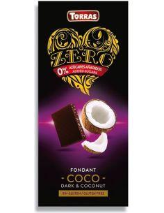 Czekolada gorzka / kokos bez cukru 125g*TORRAS ZERO*