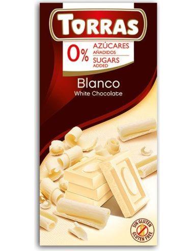 Czekolada biała 75g*TORRAS*