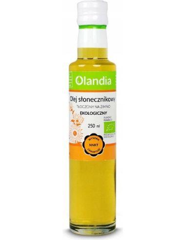 Olej słonecznikowy 250ml*OLANDIA*BIO