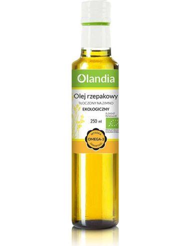 Olej rzepakowy 250ml OLANDIA BIO