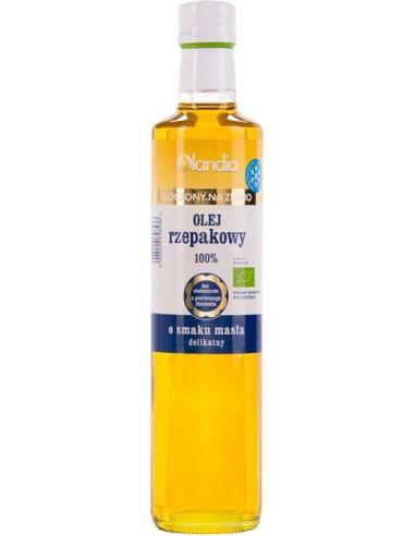 Olej rzepakowy o smaku masła...
