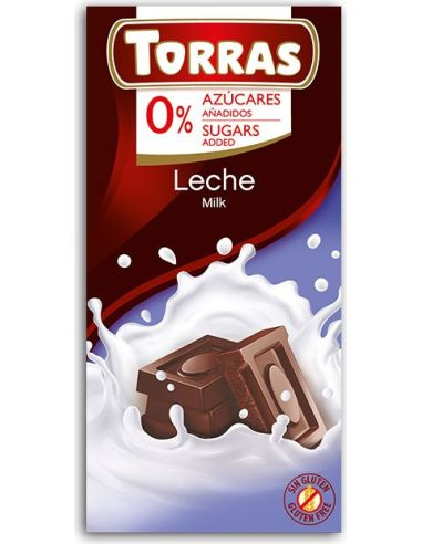 Czekolada mleczna 75g*TORRAS*