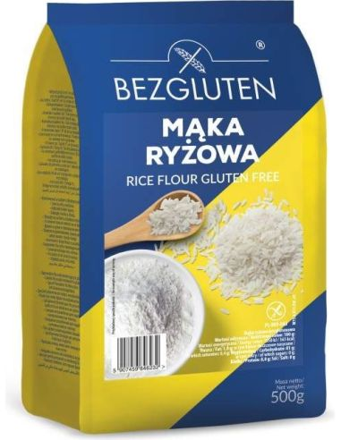 Mąka ryżowa 500g*BEZGLUTEN*