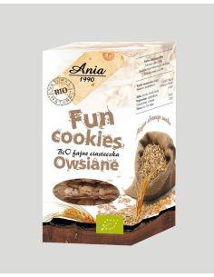 Ciasteczka **Fun Cookies** owsiane 120g*ANIA*BIO