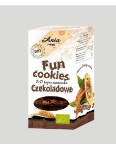 Ciasteczka **Fun Cookies** kakaowe 120g*ANIA*BIO