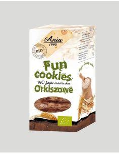 Ciasteczka **Fun Cookies** orkiszowe 120g*ANIA*BIO