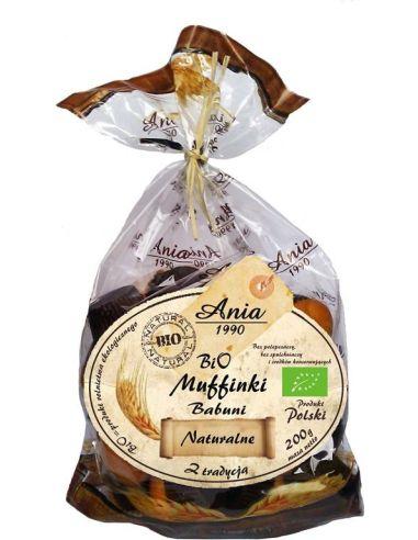 Ciastka **Muffinki Babuni** naturalne...