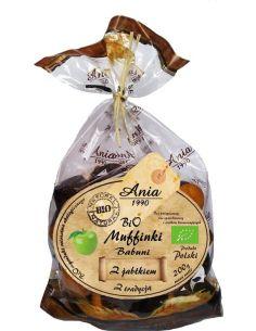 Ciastka **Muffinki Babuni** z jabłkiem 200g*ANIA*BIO