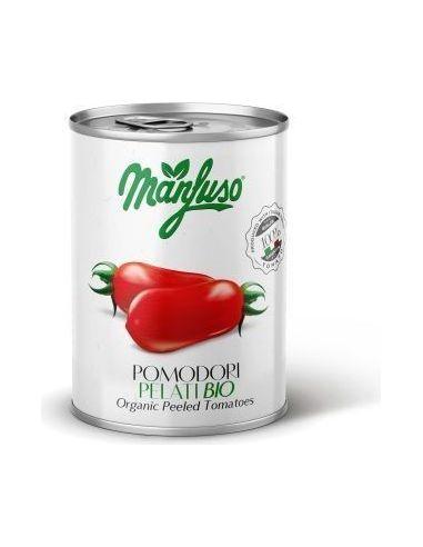 Pomidory całe puszka 400g*MANFUSO*BIO
