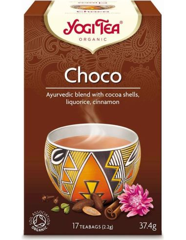 Herbata **Choco** czekoladowa ekspres 17T*YOGI TEA*BIO